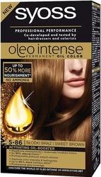 Syoss oleo, farba do włosów, 5-86 słodki brąz