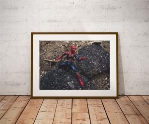 Iron spider-man ver4 - plakat wymiar do wyboru: 29,7x21 cm