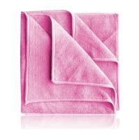 Monster shine apt pink - wszechstronna mikrofibra kolor różowy 40x40cm
