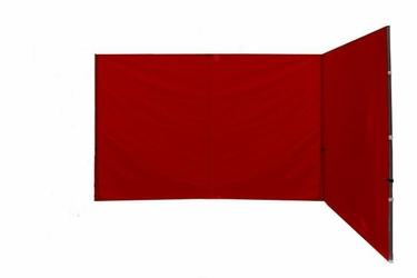 Ścianka 2 szt. 295215 cm do pawilonu 3x3 m, czerwona