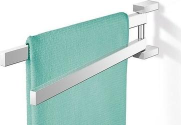 Wieszak na ręczniki linea podwójny polerowany