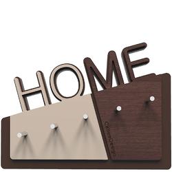 Wieszak na klucze Home CalleaDesign wenge 18-001-89