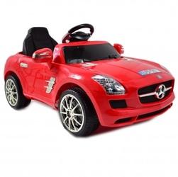 Mercedes sls amg pilot 2.4 ghz, wolny start, hamulec, dwa silniki, miękkie siedzenie qx-7997