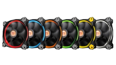 Thermaltake wentylator - ring 12 led rgb 256 color 120mm, lnc, 1500 rpm box