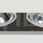 T-710 oczko 2x100w ar111 g53 czarny