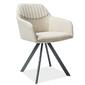 Krzesło tapicerowane Edith 2 różne kolory