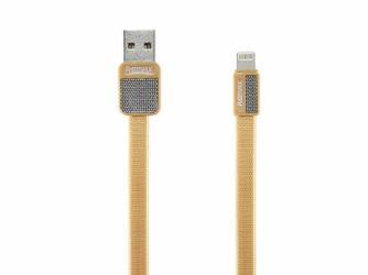 Kabel Remax RC-044i Platinum USB - Lightning Metal Złoty - Złoty