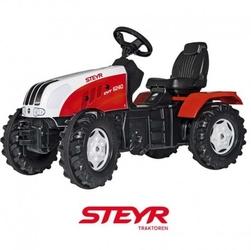 Rolly toys traktor na pedały steyr ciche koła 3-8 lat rollyfarmtrac