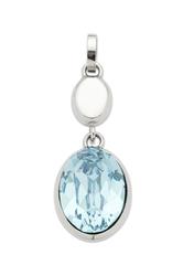 Zawieszka magnetyczna 2618-1 z niebieskim kryształem swarovskiego