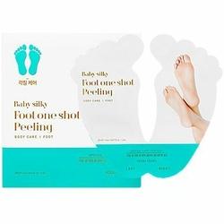 Holika Holika Baby silky foot one shot peeling do stóp, usuwa zrogowaciały naskórek 2x20ml