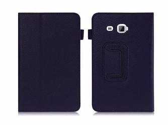 Etui STAND COVER do Galaxy Tab A 7.0 T280, T285 Granatowe - Granatowy