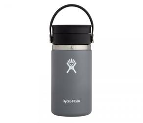 Kubek termiczny hydro flask 354 ml coffee wide mouth flex sip stone - grafitowy