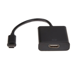 Gembird adapter usb typ-c do hdmif czarny