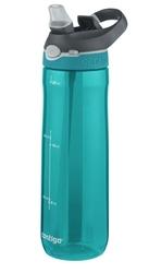 Butelka na wodę contigo ashland 720ml - scuba - turkusowy