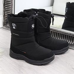 Śniegowce wodoodporne dziecięce czarne american club - czarny