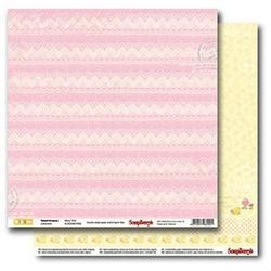 Papier Sweet dreams 30,5x30,5 cm Wavy Pink - 04