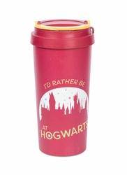 Harry Potter Rather be at Hogwarts - kubek podróżny eco