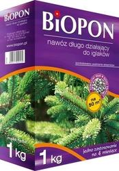 Biopon, długo działający nawóz granulowany do iglaków, 1kg