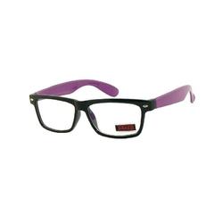 Okulary z soczewką zero fioletowe dr-xl271-c3