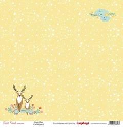 Papier 30x30 cm Forest Friends - Happy Deer - 10