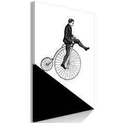 Obraz - cyklista 1-częściowy pionowy