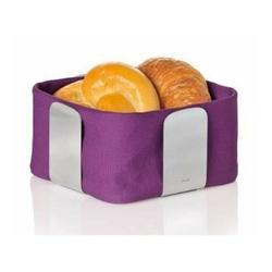 Blomus - wkład do koszyka na pieczywo 25,5 cm - desa fioletowy - fioletowy