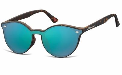 Okulary pełne lustro  okrągłe lenonki lustrzane ms46b