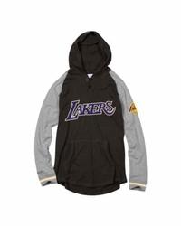 Bluza z kapturem Mitchell  Ness NBA Los Angeles Lakers Slugfest Lightweight - Lakers