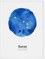 Plakat Zodiak Baran 30 x 40 cm