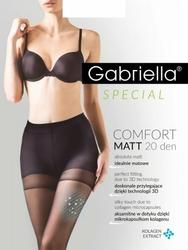 Gabriella Comfort Matt 479 20 den 5-XL rajstopy