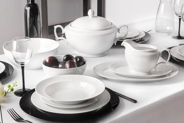 Serwis  zestaw obiadowy dla 6 osób porcelana mariapaula amore 24 elementy