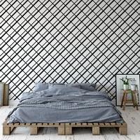 Tapeta na ścianę - checkered minimalism , rodzaj - próbka tapety 50x50cm