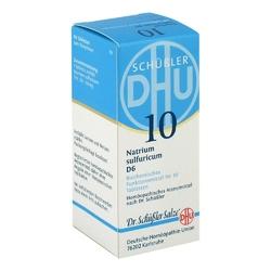 Biochemie dhu sól nr10 siarczan sodowy d6, tabletki