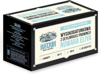 Natjun herbata czarna nuwara eliya 2g x 50 saszetek