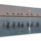 Jade Sea Reflections - Obraz na płótnie