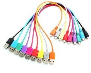 4world Kabel USB 2.0 MICRO 5pin, AM  B MICRO transferładowanie 1.0m fioletowy