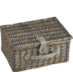 Kosz piknikowy wiklinowy z wyposażeniem dla dwóch osób Cilio Stresa CI-155716