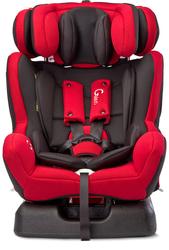 Caretero Galen Czerwony Fotelik Samochodowy 0-36kg+ Lampka LED