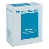 Medikamenten box medisort 7 für 1 woche weiss