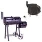 Bbq grill grillwagen charcoal grill xl 28 kg 120 x 60 cm z pokrywą ochronną