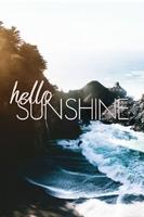 Hello sunshine - duży plakat