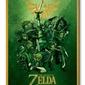 The legend of zelda link - obraz na płótnie
