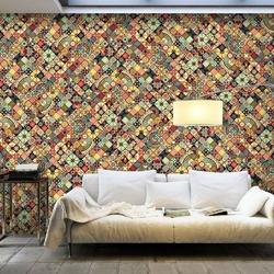 Fototapeta xxl - tęczowa mozaika