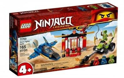 Lego klocki ninjago bitwa burzowego myśliwca
