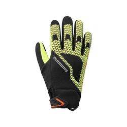 Rękawiczki zimowe shimano windbreak thermal ref żółte