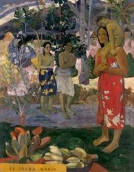 Ia orana maria, paul gauguin - plakat wymiar do wyboru: 20x30 cm
