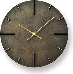 Zegar ścienny quaint ciemnorbązowy