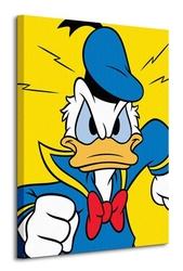Donald duck mad - obraz na płótnie