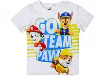 Koszulka psi patrol  go team paw  dla chłopca 6 lat