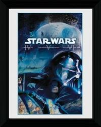 Star Wars Blu Ray Classic - obraz w ramie
